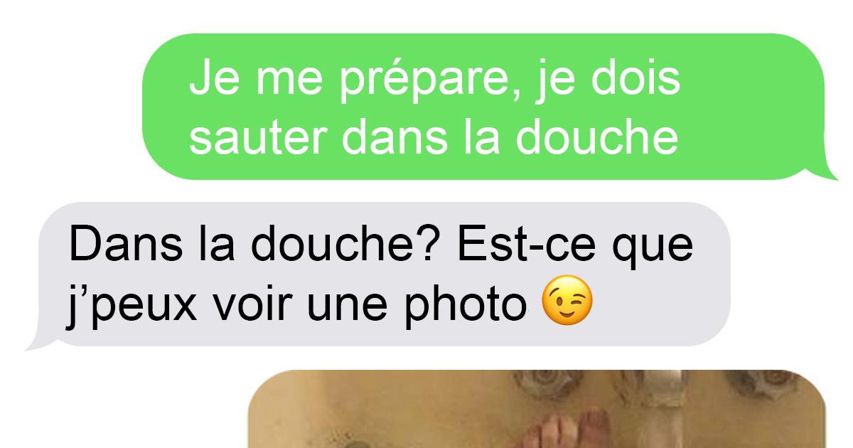 Un gars a demandé des photos sexy dans la douche à son «coup de coeur» et il a eu plus que ce qu'il espérait