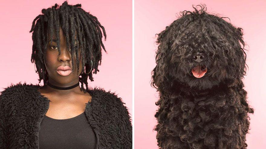 Ce photographe a placé côte à côte 10 chiens et leurs propriétaires et la ressemblance est frappante