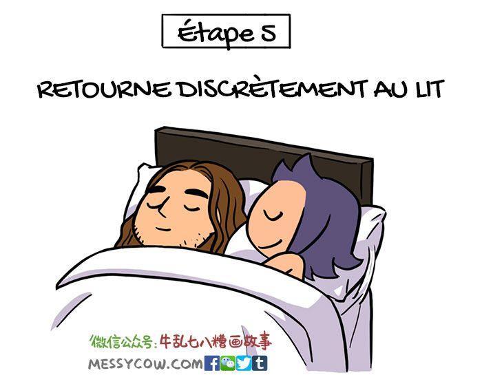 Ce guide pour péter est un incontournable pour tous les couples qui dorment dans le même lit