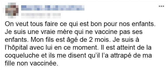 Un bébé de 2 mois a contracté une «maladie horrible» de sa soeur non vaccinée et la réaction de sa mère a mis tout le monde en colère