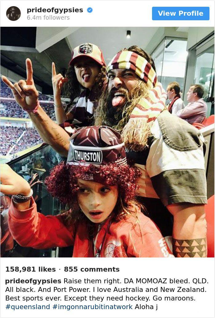 23 fois où Jason Momoa a été le gars le plus cool d'Instagram