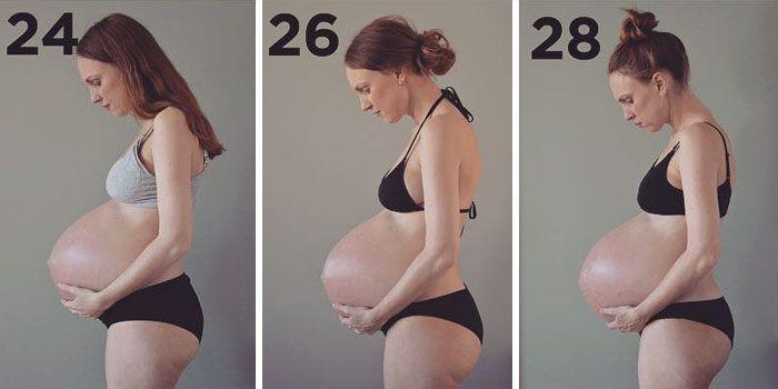 Voici ce que 3 bébés qui grandissent dans le même ventre font à votre corps