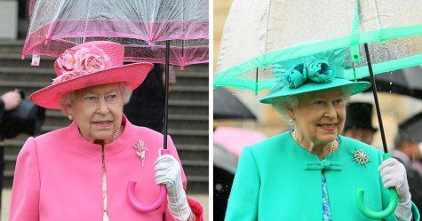 La tenue «écran vert» de la reine déclenche des réactions hilarantes de l'Internet