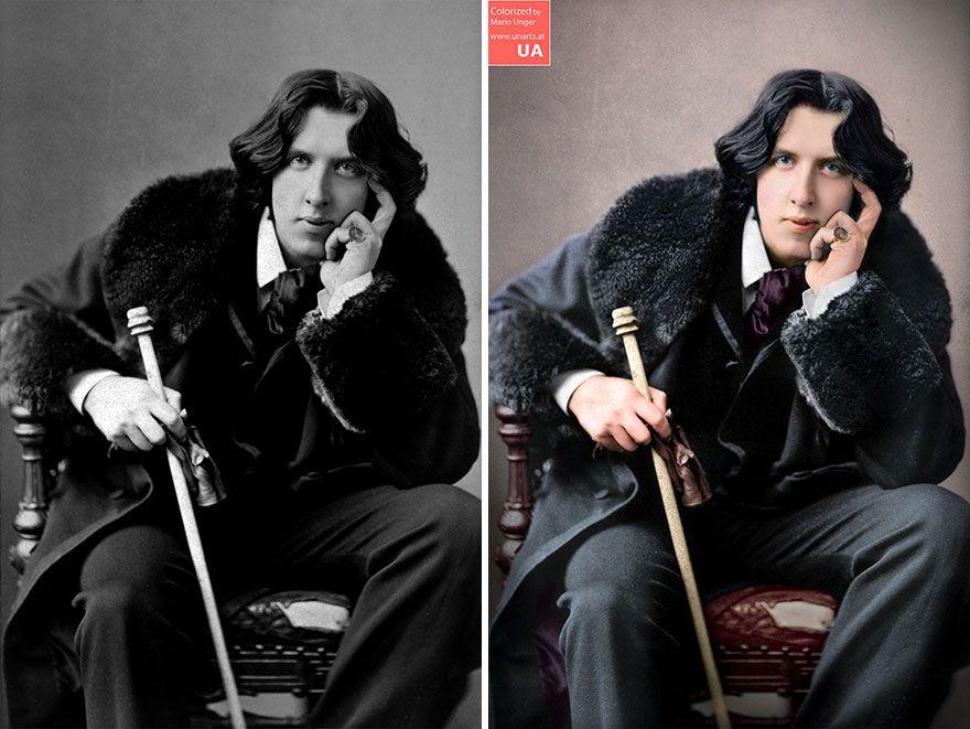 3000 heures plus tard, voici 40 anciennes photos en noir et blanc de personnes célèbres que j'ai colorisées