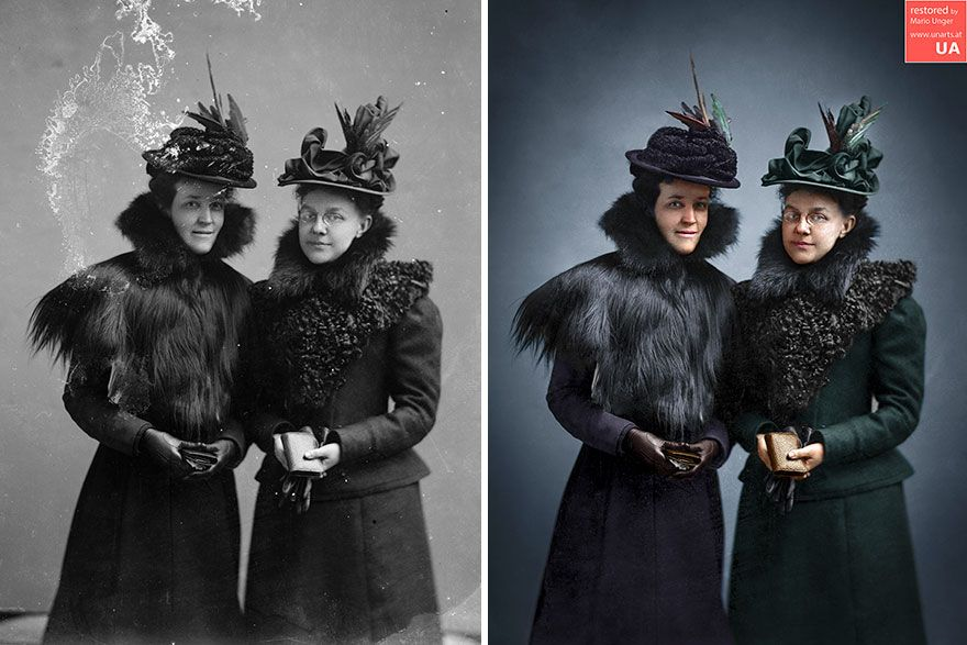 3000 heures plus tard, voici 40 anciennes photos en noir et blanc de célébrités que j'ai colorisées