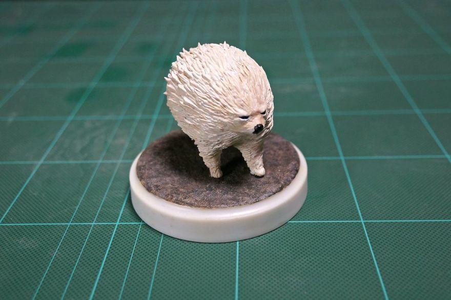 8 moments maladroits d'animaux transformés en sculptures hilarantes par un artiste japonais