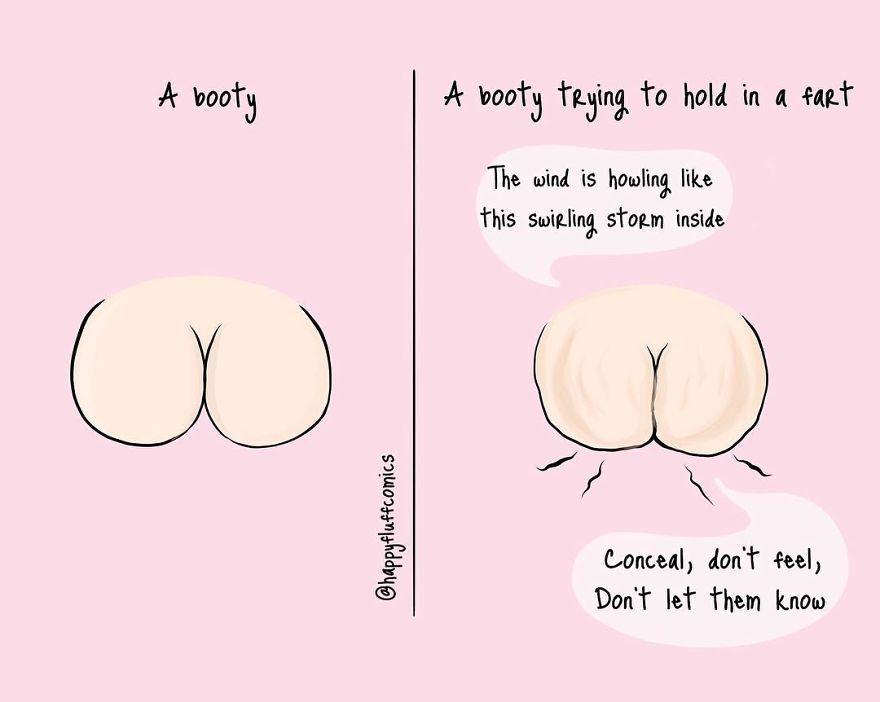 20 bandes dessinées qui résument parfaitement les problèmes courants des filles (ATTENTION: images explicites)