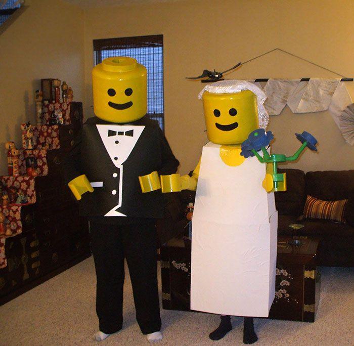 22 couples qui ont absolument triomphé à l'Halloween