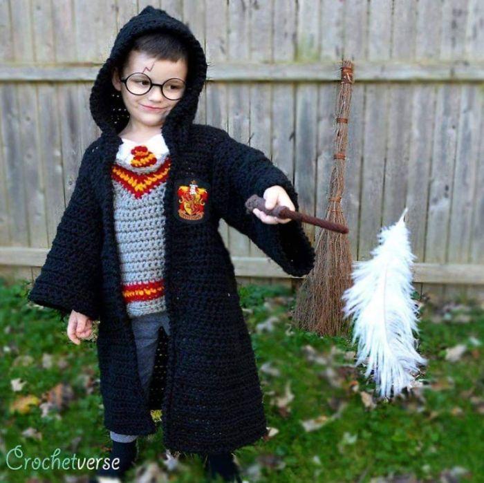9 costumes d'Halloween que j'ai confectionnés au crochet pour mes enfants