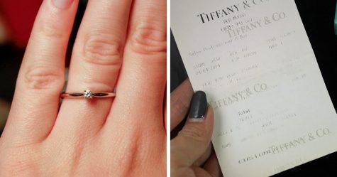 Elle porte sa bague de fiançailles pendant un an sans même le savoir, et sa réaction est trop marrante