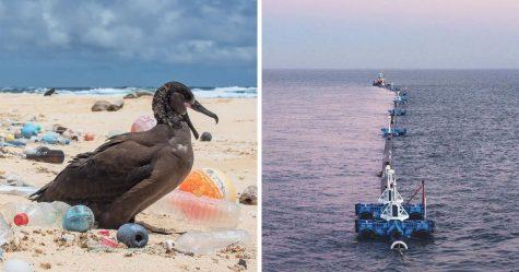 Un flotteur géant nommé Wilson s'apprête à nettoyer le vortex de déchets du Pacifique Nord