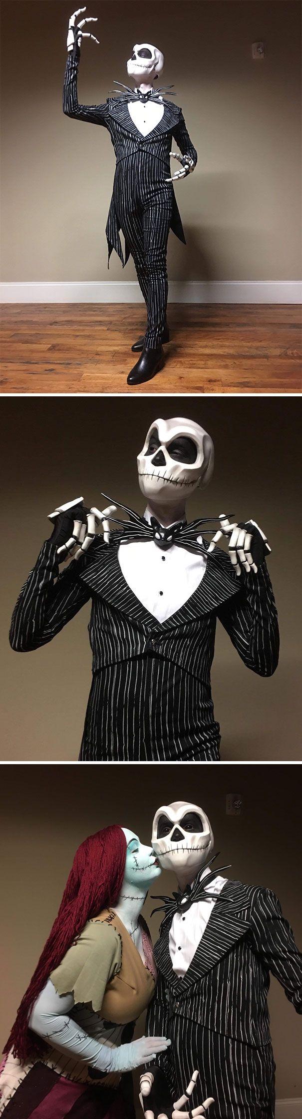 33 personnes qui ont surpris tout le monde à l'Halloween avec leurs costumes
