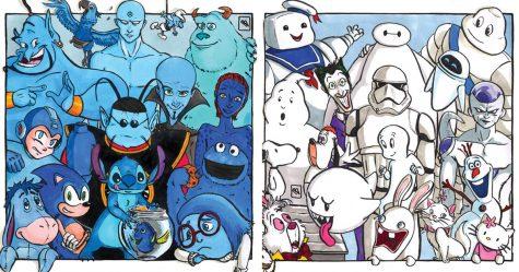 16 personnages populaires finalement démasqués