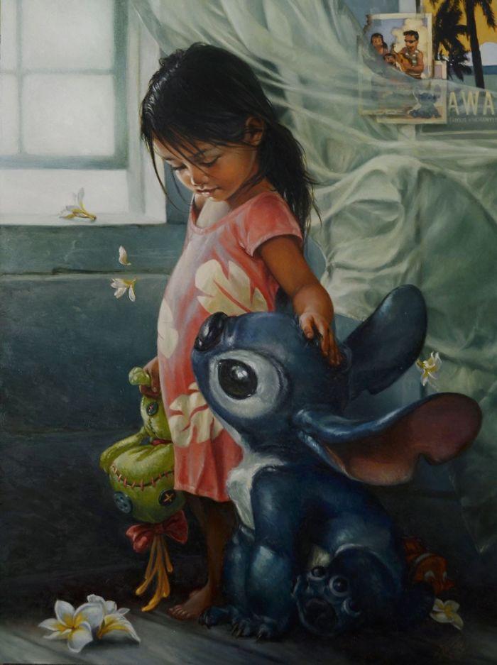 Une artiste a imaginé à quoi ressembleraient les personnages Disney s'ils étaient des peintures à l'huile et vous aurez envie de les accrocher dans votre salon