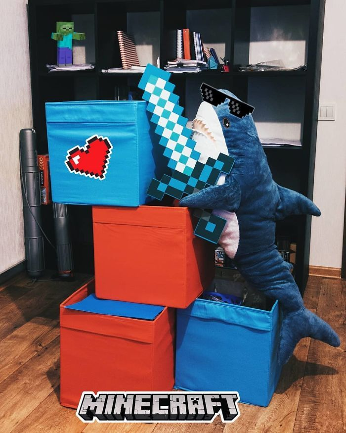 IKEA a lancé un adorable requin en peluche et les gens en sont complètement fous