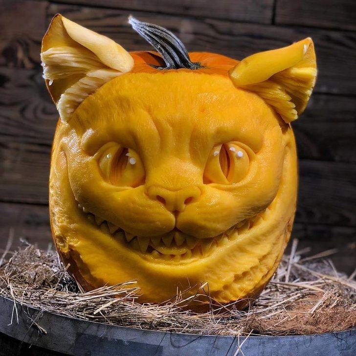 19 meilleures sculptures de citrouilles qu'on a jamais vues
