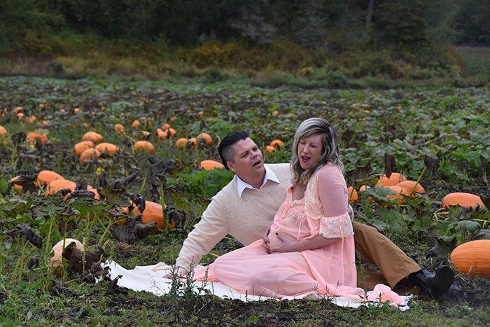 Voici la séance photo de maternité la plus terrifiante qu'on a jamais vue (ATTENTION: certaines images pourraient être trop brutales)