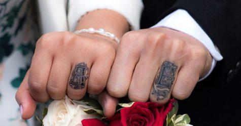 Un couple recrée l'intro des 101 Dalmatiens pour leur séance photo de fiançailles