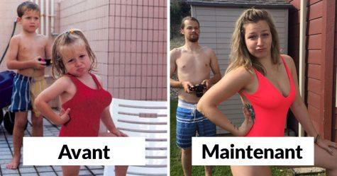 23 personnes qui ont recréé leurs photos de famille de la meilleure façon possible