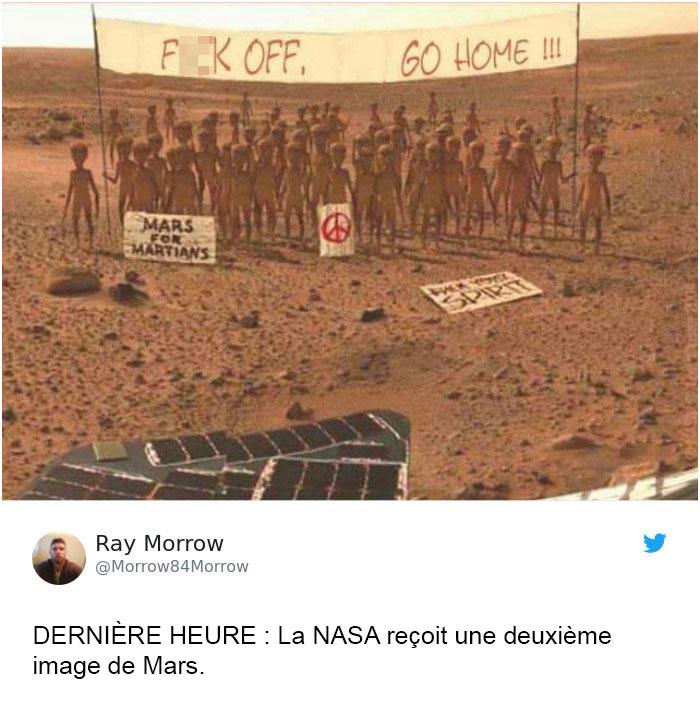 11 réactions hilarantes aux premières photos de Mars par la sonde InSight de la NASA