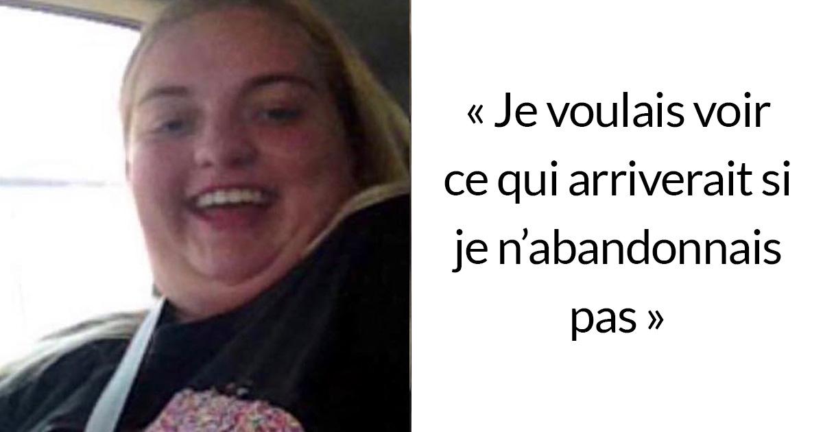 Une adolescente en surpoids a surpris tout le monde en perdant 64 kilos pour pouvoir porter sa robe de soirée