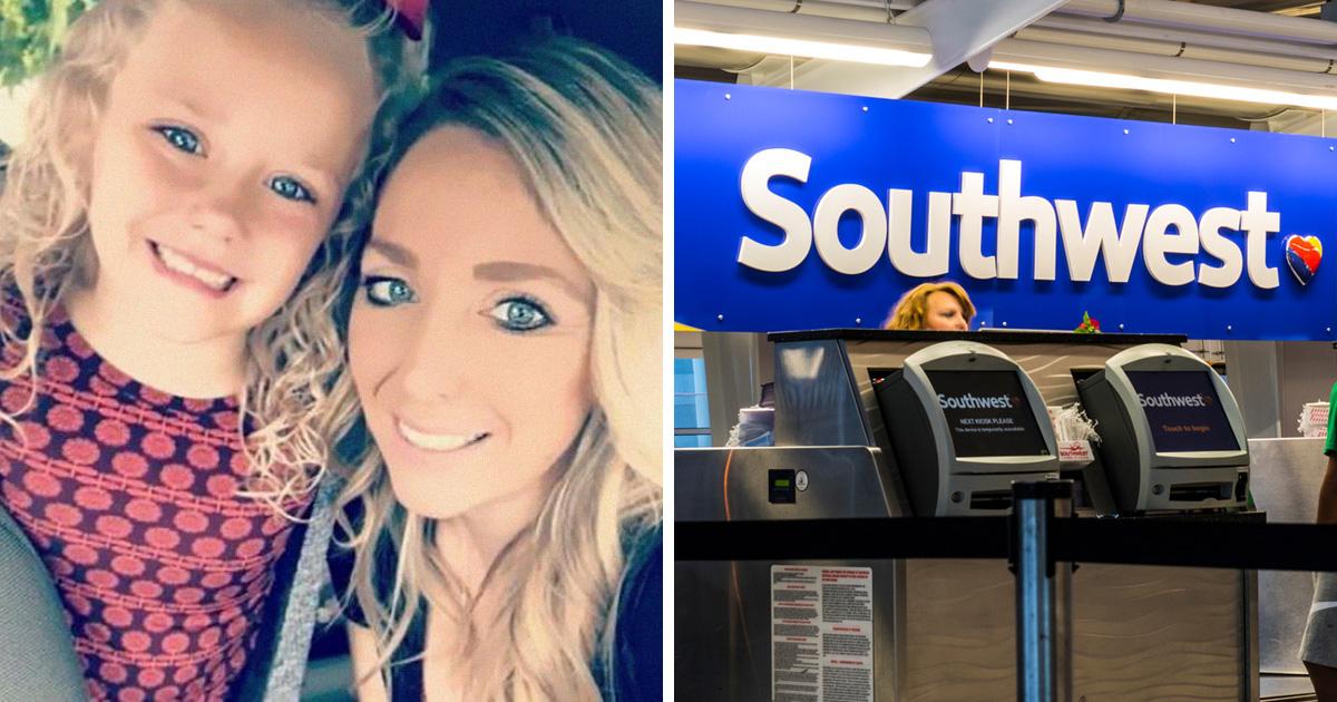 Cette mère a accusé Southwest Airlines de se moquer du nom de sa fille de 5 ans et les internautes se sont moqués d'elle à leur tour