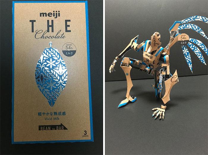 Un artiste japonais transforme l'emballage de produits en oeuvres d'art extraordinaires (12 photos)