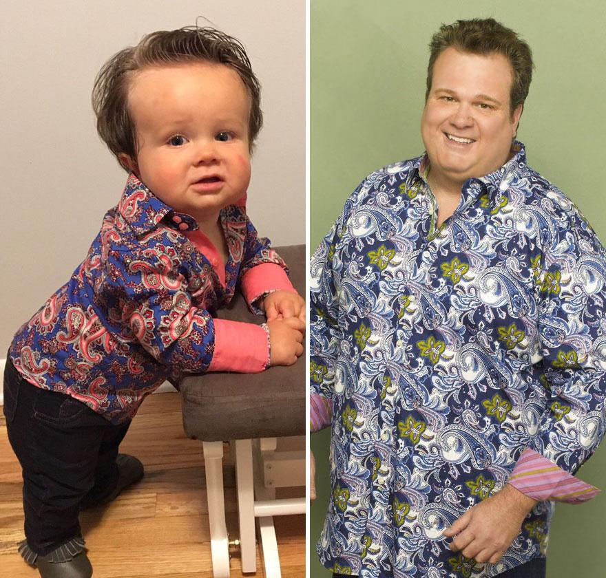 23 bébés qui ressemblent à des célébrités