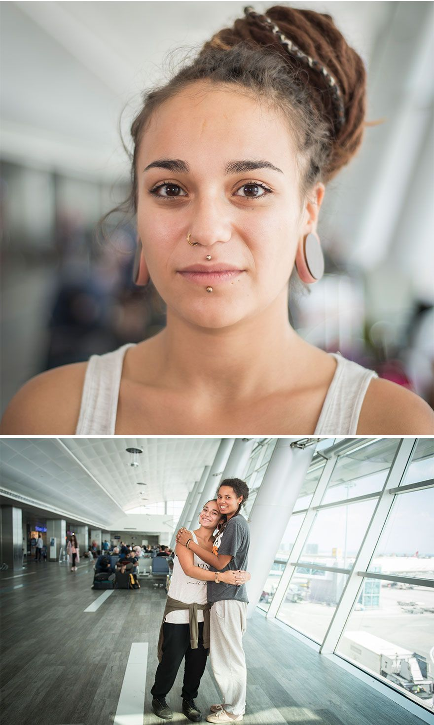 Je travaille à l'aéroport et photographie des personnes uniques du monde entier (44 photos)