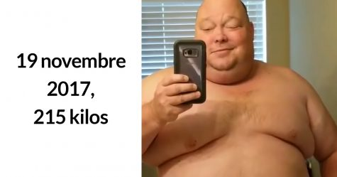 Cet homme de 215 kilos a perdu 90 kilos en un an et il est difficile de croire que c'est la même personne