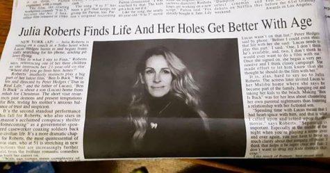 Un journal a fait une faute regrettable dans le titre de Julia Roberts et les gens en ont tiré le meilleur parti possible