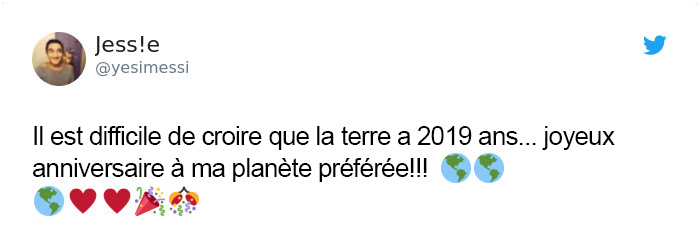 10 personnes qui pensaient que la Terre venait juste d'avoir 2019 ans