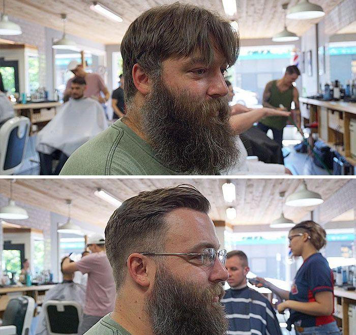 22 transformations frappantes qui montrent la différence entre une barbe bien entretenue et une barbe négligée