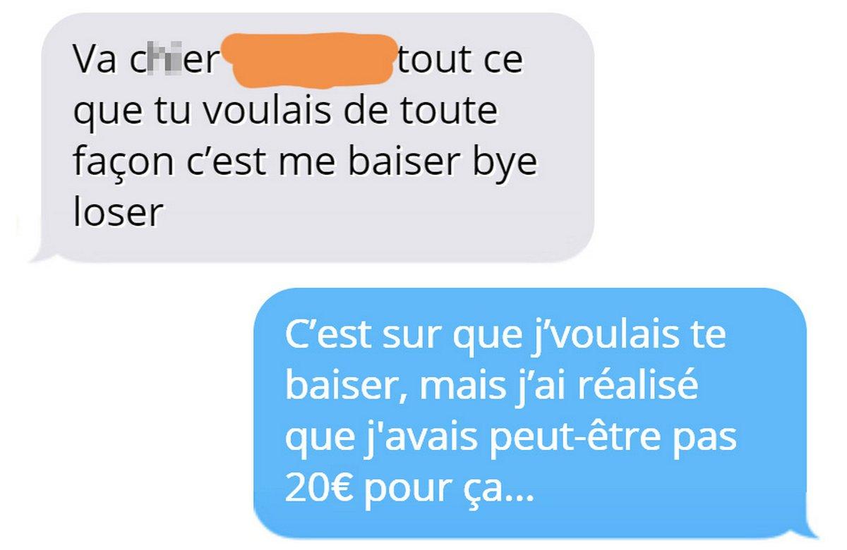 Un homme refuse de payer 128€ pour le repas d'une fille, alors elle lui montre son vrai visage