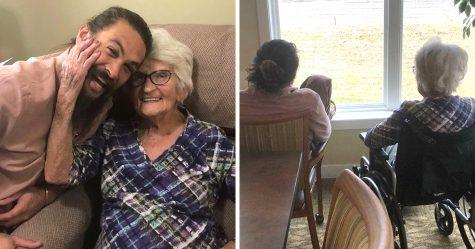 Jason Momoa est rentré chez lui pour rendre visite à sa grand-mère et les photos ont fait craquer tout le monde