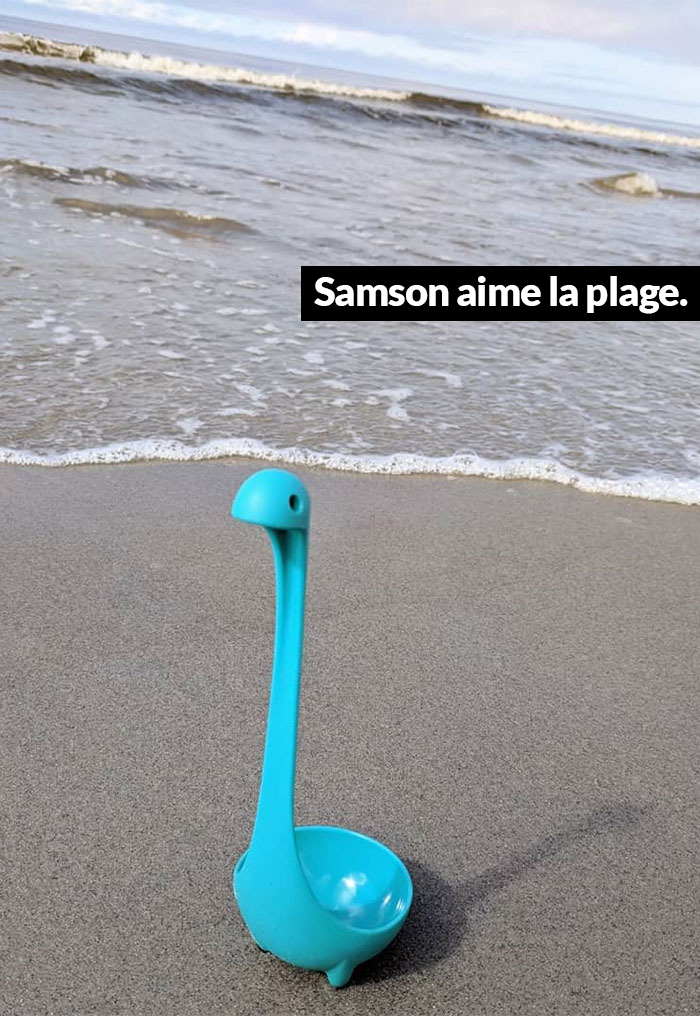 Cette femme a créé un compte Instagram à Samson la louche et les gens ne peuvent plus se passer de lui