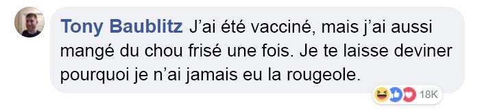 Une mère contre la vaccination a demandé comment protéger son enfant de 3 ans de l'épidémie de rougeole et les internautes ont assuré
