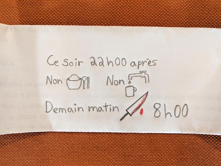 Un étudiant étranger hospitalisé en Chine a reçu une lettre d'une infirmière qui ne parlait pas français et les commentaires nous ont fait pleurer de rire