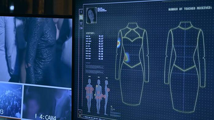 Cette robe montre à quelle fréquence les femmes se font toucher sans leur consentement