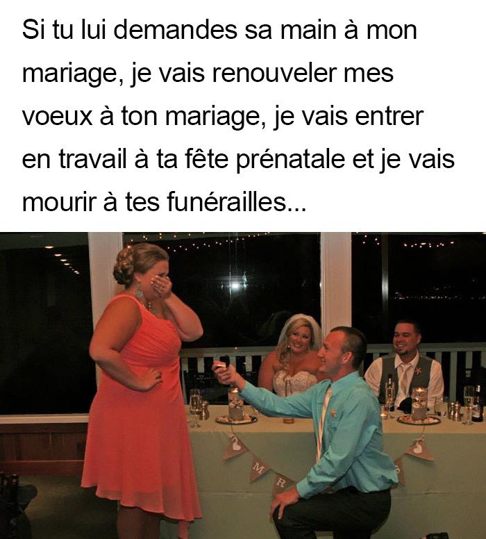 20 blagues hilarantes qui résument parfaitement tous les mariages