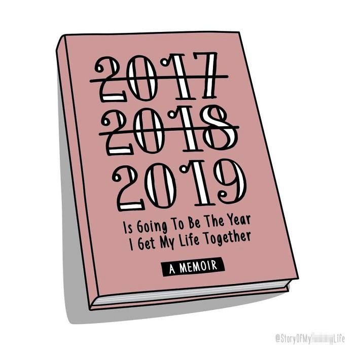 22 couvertures de livres «C'est l'histoire de ma vie» honnêtes et hilarantes