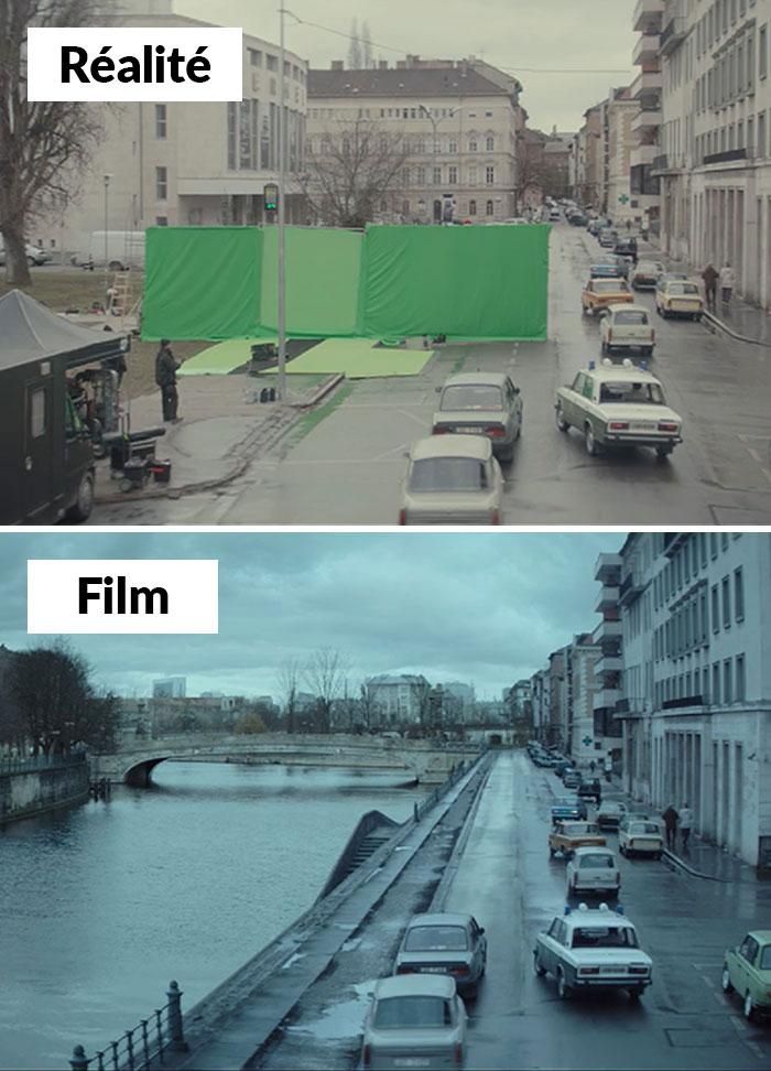Ce compte Instagram révèle des scènes de films célèbres avec et sans effets spéciaux (22 images)