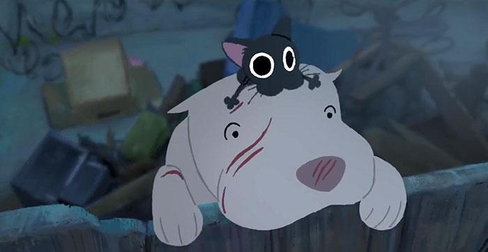 Pixar a fait pleurer les gens en présentant «Kitbull», un court métrage sur l'amitié entre un pitbull et un chaton errant