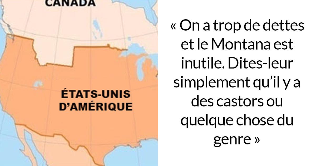 Une pétition pour vendre le Montana au Canada pour 1 trillion de dollars attire l'attention à cause des commentaires hilarants