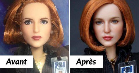 Un artiste crée des visages de poupées incroyablement détaillés qui vous donneront des frissons