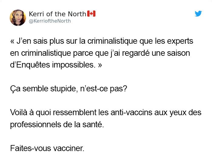 10 réponses les plus divertissantes aux anti-vaccins