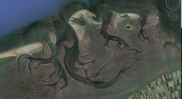 Un gars a partagé ses 10 découvertes les plus intéressantes sur Google Earth