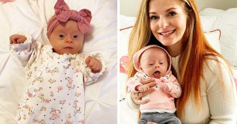 Cette mère a partagé sa «critique» honnête de son bébé trisomique et 347000 personnes l'ont adorée