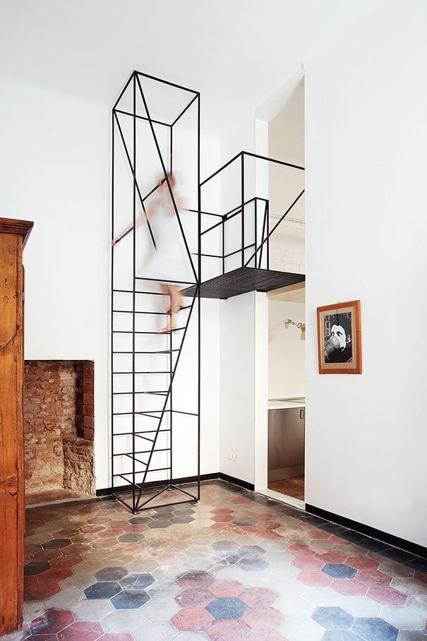 22 magnifiques escaliers qui vont rendre l'ascension au deuxième étage moins ennuyeuse