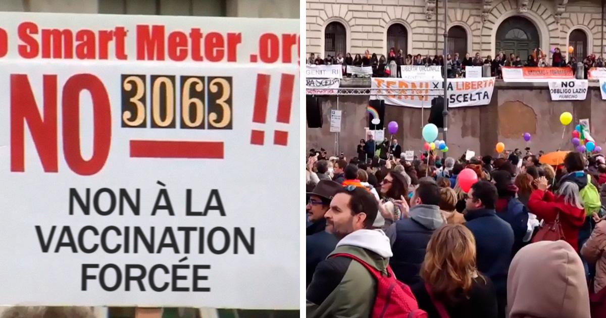 L'Italie a interdit aux enfants non vaccinés d'aller à la maternelle et les anti-vaccins sont furieux